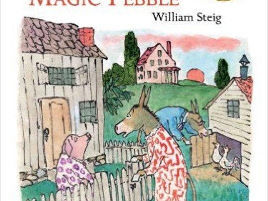 絵本で学ぶ英語「ロバのシルベスターと魔法の小石」の原作を読もうの画像