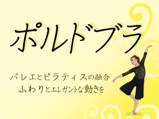 【オンライン】ポルドブラ〜バレエ系コンディショニングプログラムの画像