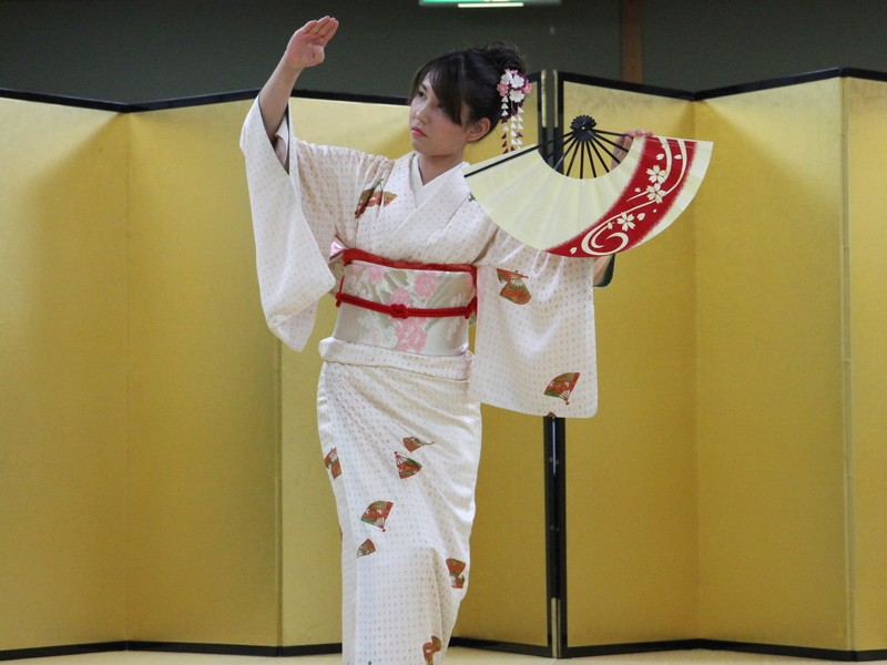 初心者大歓迎!簡単に楽しく日本舞踊 マンツーマンの画像