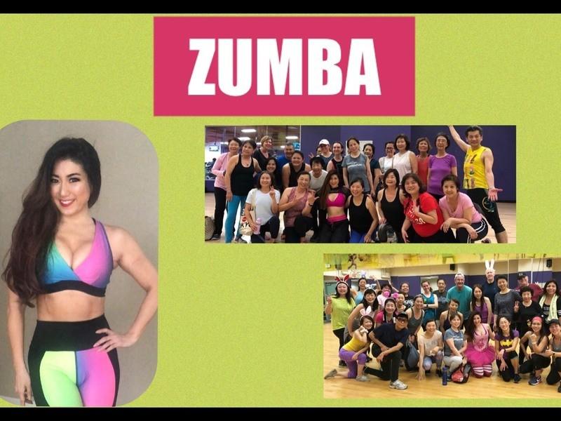 【オンライン】Zumbaで脂肪燃焼☆アメリカからライブでお届け! の画像