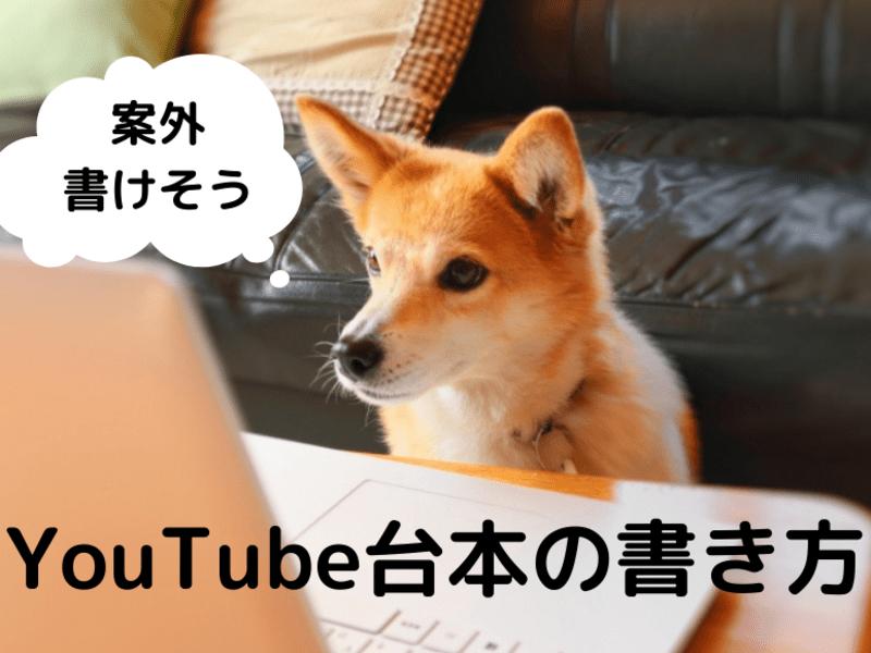 ライターが教える【素人向け】YouTubeシナリオ台本の書き方の画像