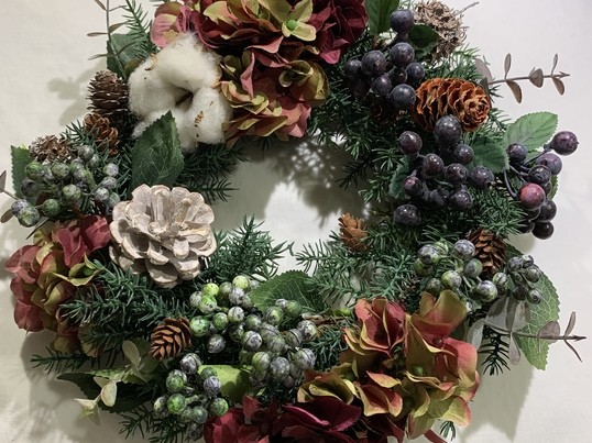 恵比寿🎄2020年クリスマスリースを作ろう🎄の画像