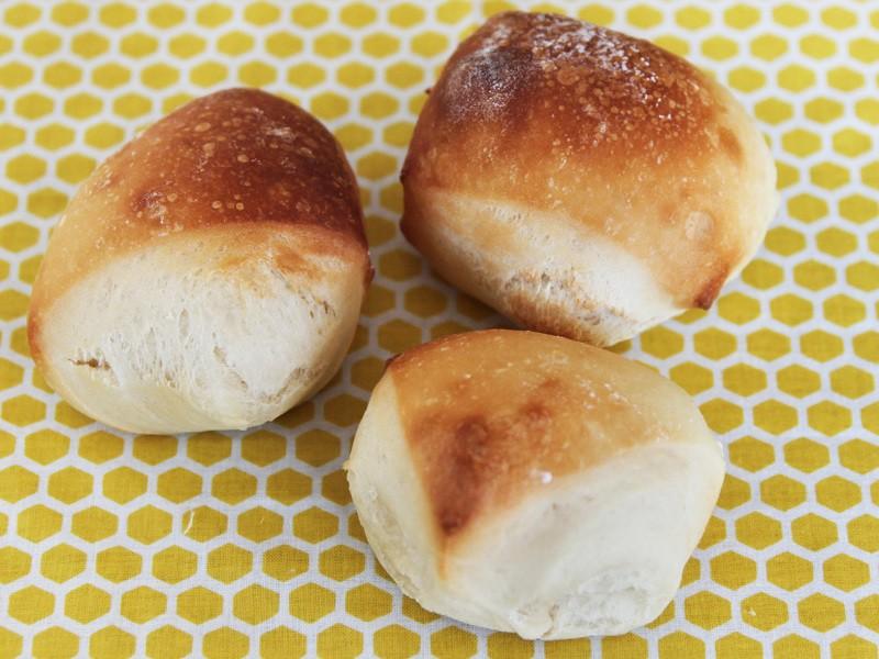 成形なし!切りっぱなしのふわふわ練乳パン レッスンの画像