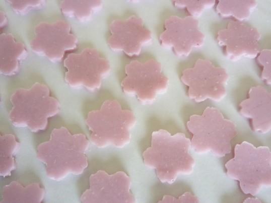 お肌潤う手作り石けん「桜ソープ」の画像