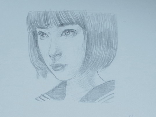 初心者からのデッサン 「人の顔を描いてみよう!」の画像