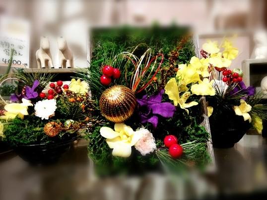 苔のプリザを使って和飾りを作ろう~華やかに新年を迎えましょう~の画像