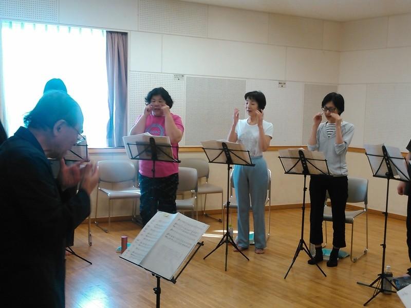 歌の基礎的な発声について学ぶ「歌発声」講座の画像