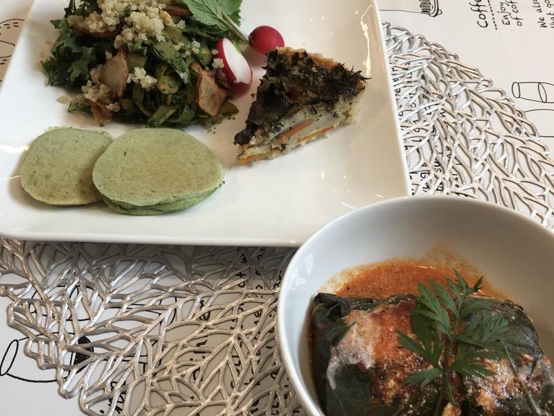 事前に野菜を直送!オーガニック野菜で作るベジ料理の画像