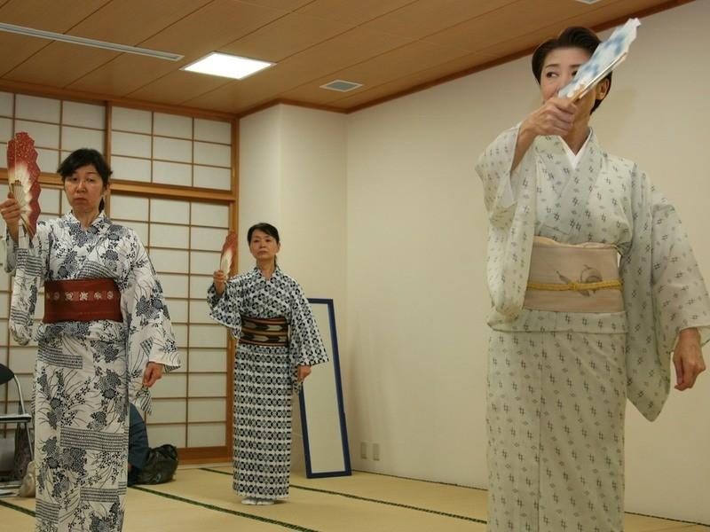 [着物不要]日舞エクササイズ!日本の文化を知りながら運動不足解消!の画像