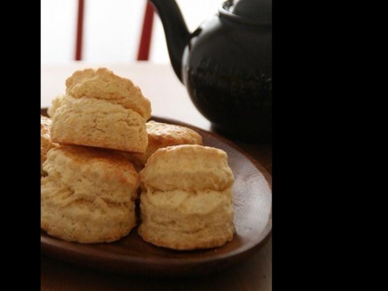 サクふわっ!ブリティッシュスコーン秘伝レシピ&食べ方マナーの画像