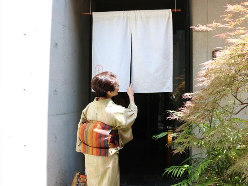 美しいきもの着装講座~お仕事帰りに楽しく着付け~の画像