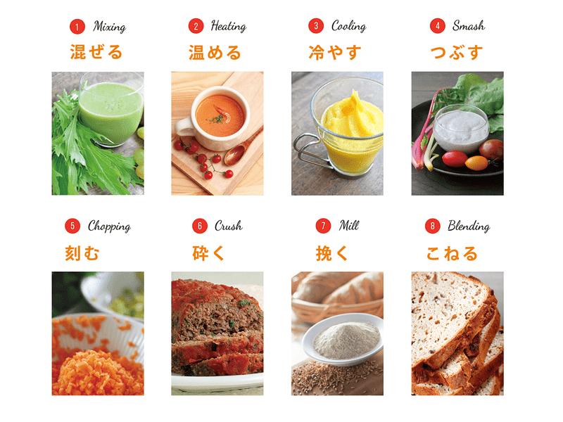 時短!簡単!ミキサー使い方講座 Vitamix基本講座(応用編)の画像