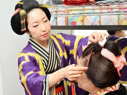 自分で結えるセルフ新日本髪の画像