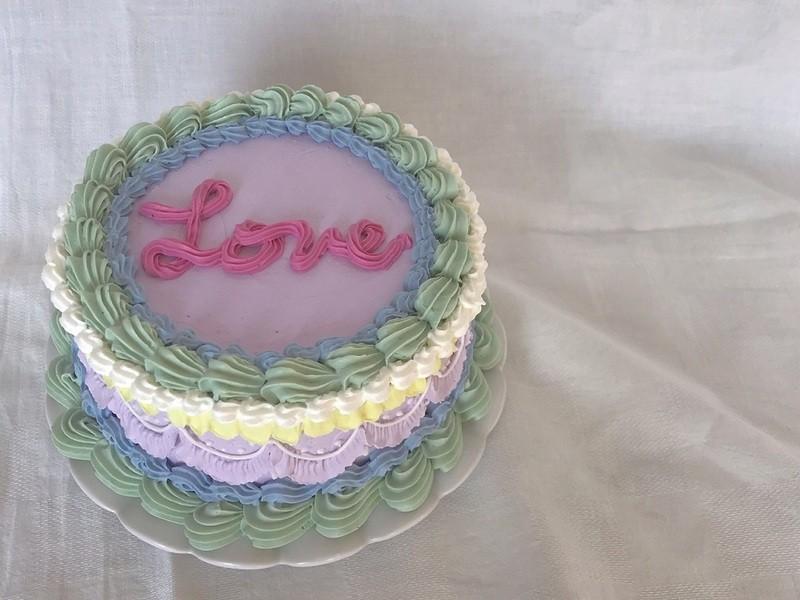 レトロポップ!BUTTER CREAM CAKE デコレーションの画像