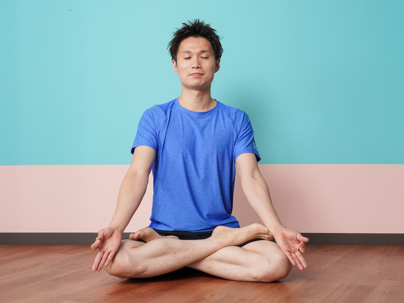 [メンズ大歓迎!]ストレスを軽減するヒーリングヨガ。瞑想・心の安定の画像