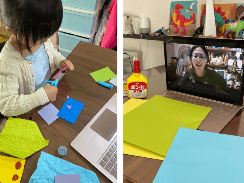 手ぶらOK【4歳~6歳のオンライン簡単工作】親子で工作を楽しもう!の画像