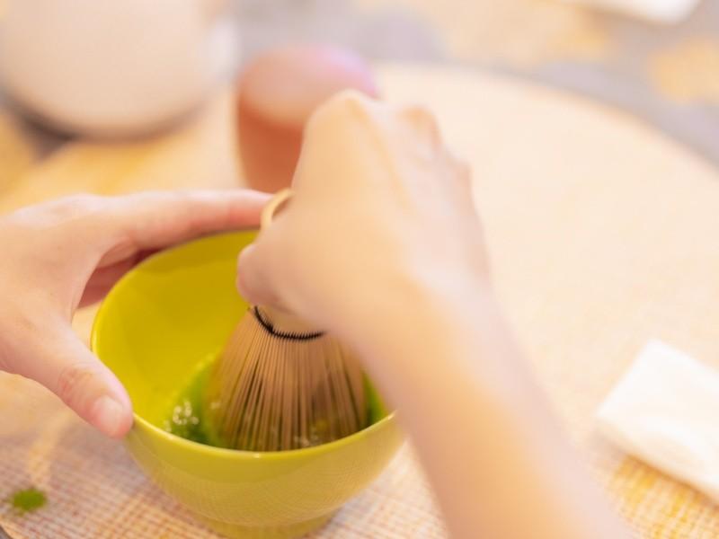 【オンライン】テーブル茶道~おうち抹茶を美味しく点てておもてなし❣の画像