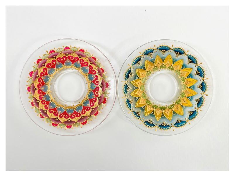 色は自由に楽しく塗ろう!珠玉のグラスペイント講座の画像