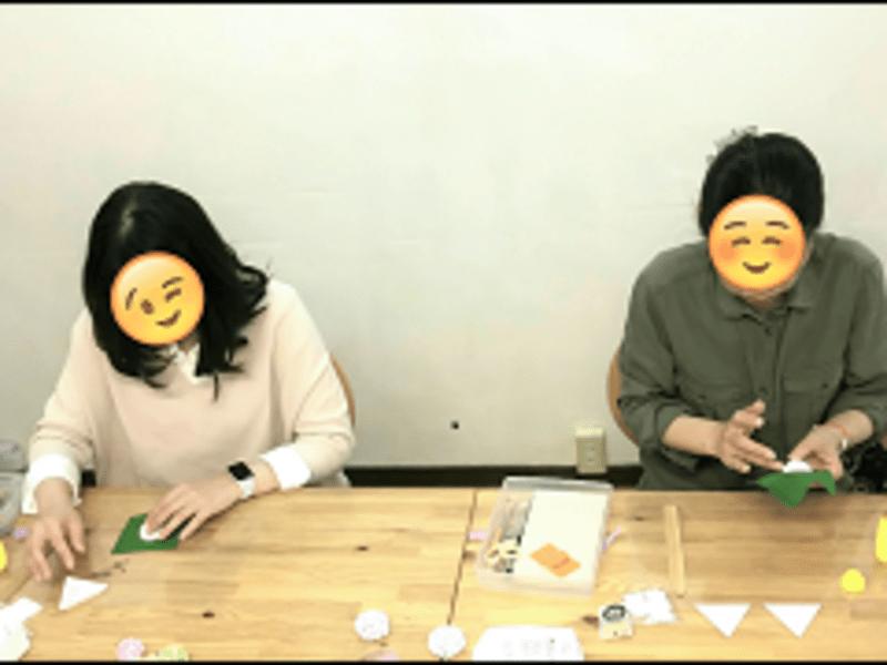 和の習い事 江戸つまみ細工 基礎『雪の果』1Day Lessonの画像