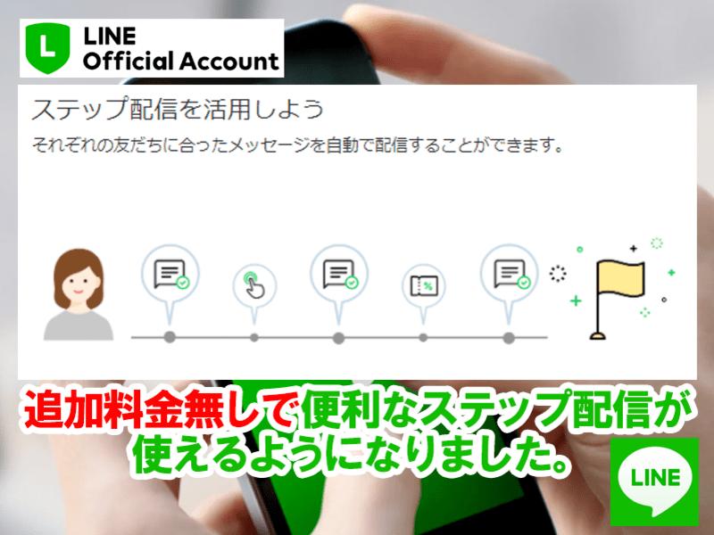 初心者向け無料でOK!LINE公式アカウントステップ配信設定勉強会の画像