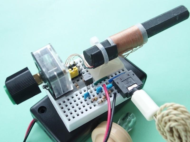 電子工作基礎編 AM ラジオの製作の画像