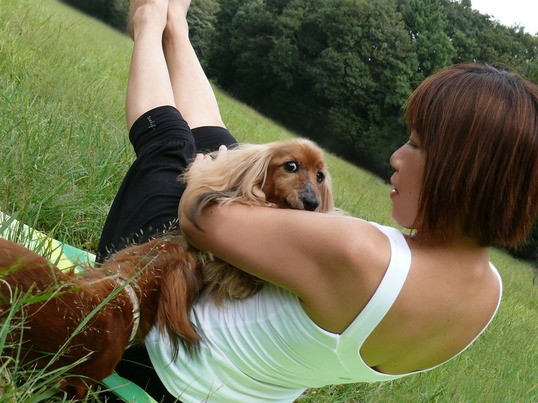 YOGA with DOGの画像