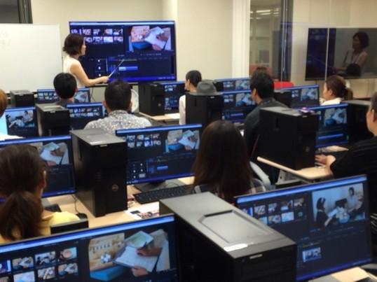 映像編集初心者のためのPremiere Pro CC 講座/基礎1の画像