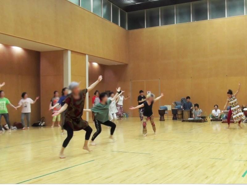 未経験者歓迎!ジャンベで踊るアフリカンダンスWS!の画像