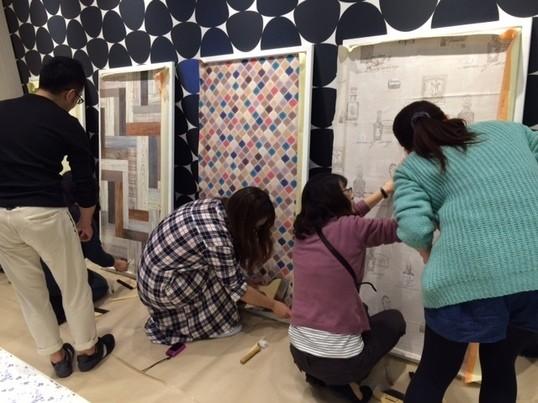 女性でも簡単!壁紙DIY教室☆の画像