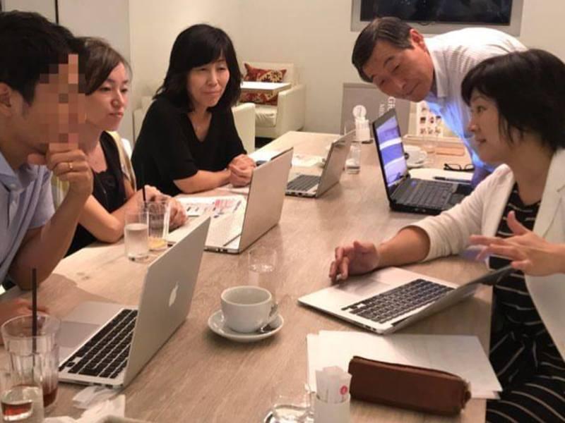 はじめてのWordPress講座。その場でホームページ作成の画像