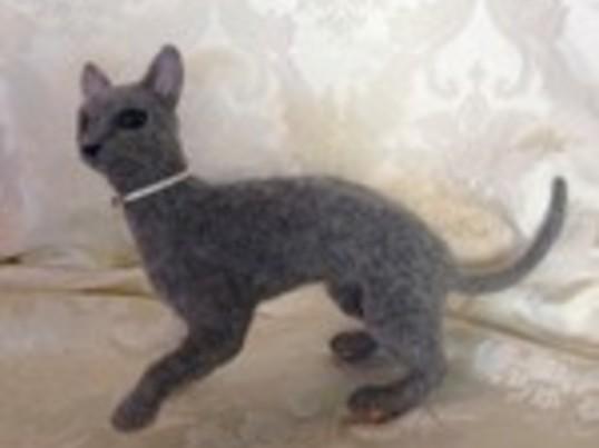 羊毛アート ~愛犬・愛猫作成コース~の画像