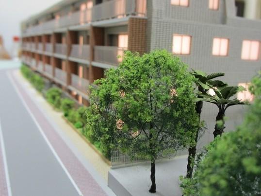 安心のマン・ツー・マンワーク!建築模型を体験してみよう!【樹木編】の画像