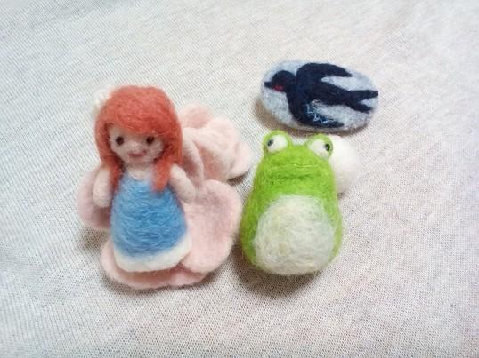 【親子参加もOK】羊毛フェルトでつくるおやゆび姫のものがたりの画像