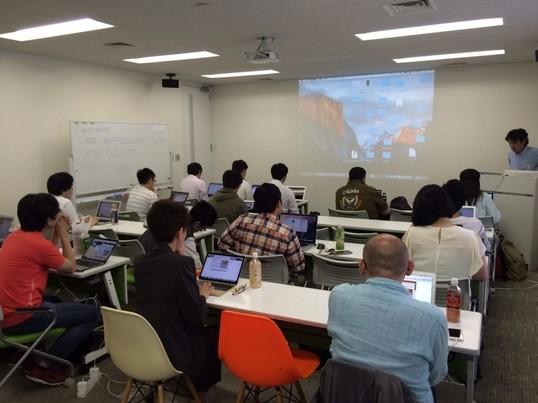 初心者大歓迎渋谷swiftで初めの一歩 iPhoneアプリ開発体験の画像