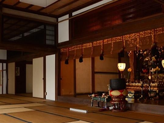 お寺ヨガの画像