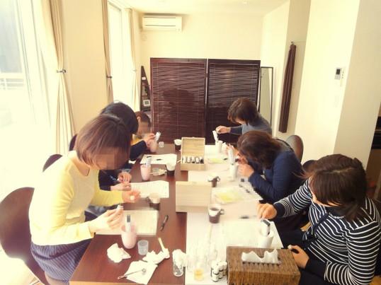 アロマが香る美白美容液&美白洗顔フォーム☆手作りレッスンの画像