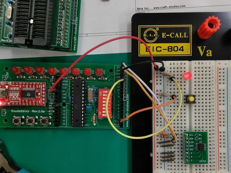初めての電子工作(Arduinoマイコン体験編)の画像