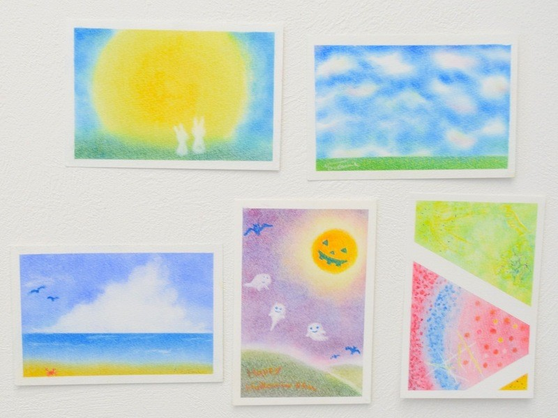 パステルアートの資格:3色パステルアートインストラクター認定講座の画像