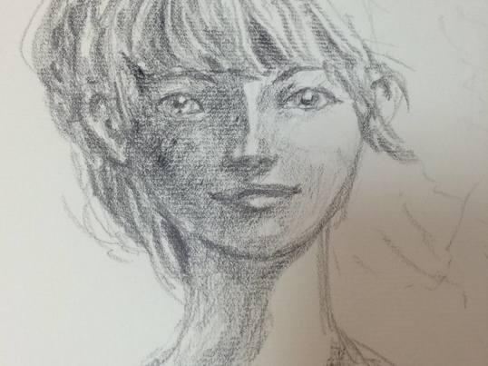 【日替り描画モチーフ】絵本作家が伝えたいデッサンのコツ講座 応用編の画像