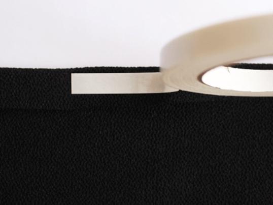 着物着付け 半襟を縫わずに両面テープで付ける方法を学ぶ講座の画像