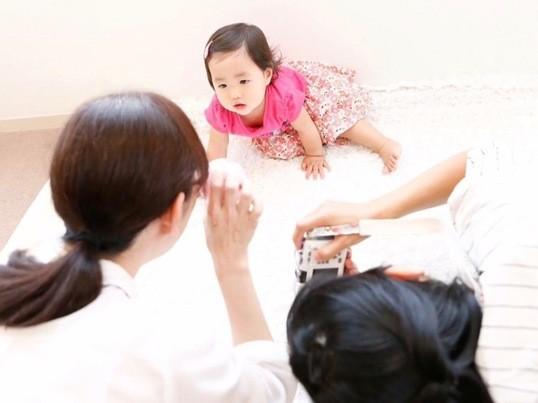 赤ちゃんモデルワークショップの画像
