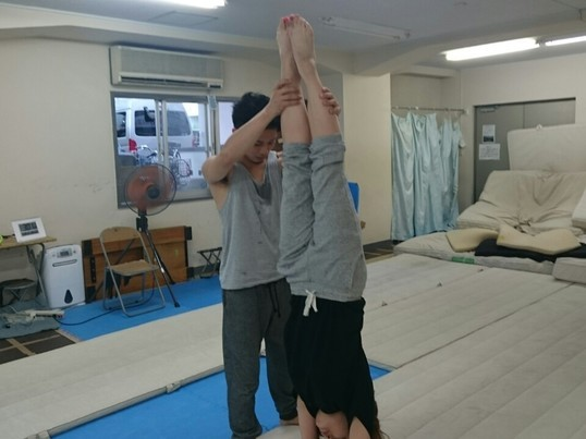 毎日開催バク転教室、体操教室(未経験、初心者も歓迎)の画像