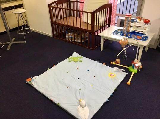 プレママ、0歳児ママ対象 スタイ&ガーゼハンカチ作りワークショップの画像