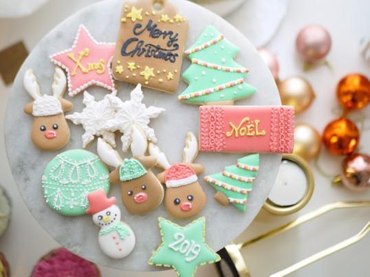 【ボリュームたっぷり】クリスマス アイシングクッキーレッスンの画像