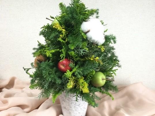 手作り♡クリスマスツリーの画像