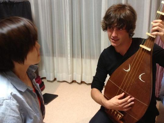 世界初!プロエレキ琵琶奏者が教える 琵琶ワークショップの画像