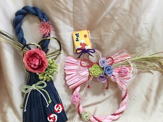 【博多マルイ開催】自分だけの手作りしめ縄飾りでお正月を迎えよう♡の画像