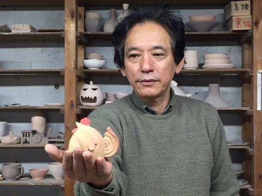 新年のインテリア準備はじめましょ!干支(酉)土鈴作り体験会の画像