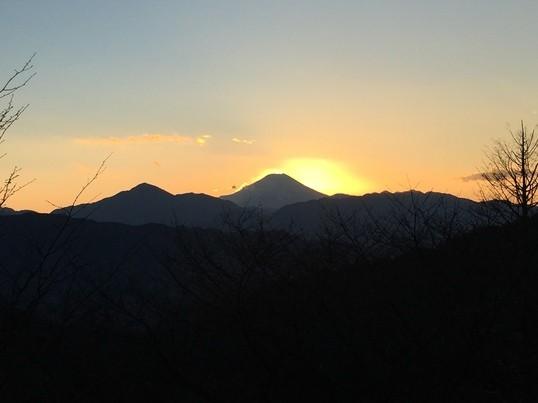 山ガール講座☆実践編(陣馬山から高尾山への縦走とダイヤモンド富士)の画像