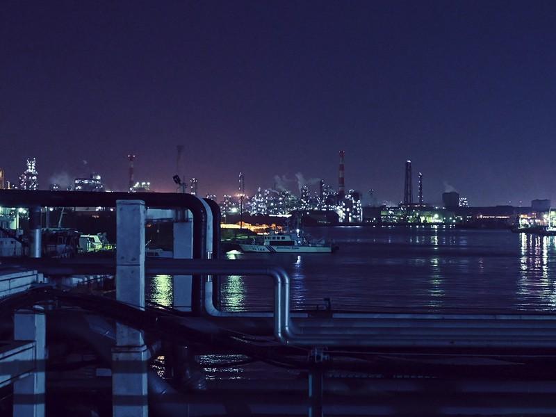 ♬きいろろ写真部★川崎工場☆夜景を撮りに行こう《千鳥町編》初心者♬の画像